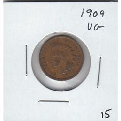 1909 INDIAN HEAD CENT, VG