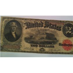 1917 $2 Legal Tender Note, F,   0147