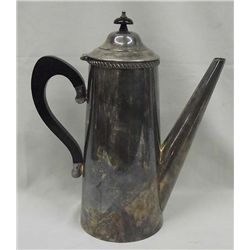 Sheffield Crafton Silver Plate Coffee Pot