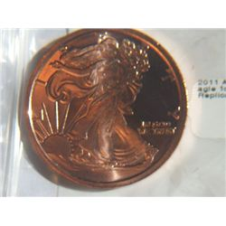 2011 WALKING LIBERTY EAGLE COPPER
