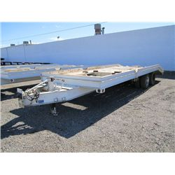 1990 Zieman 16' T/A Equipment Trailer