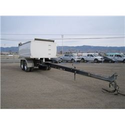 1996 Superior FD-229 T/A Pup Trailer
