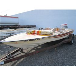 1979 Regatta 19' Power Boat