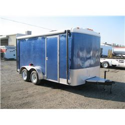 2000 INWT 16' Enclosed T/A Trailer