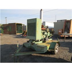 "John Deere S/A 6"" Towable Trash Pump"