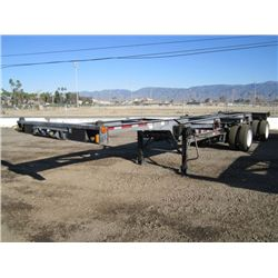 2006 Chief Industries T/A Shipping Container Trailer