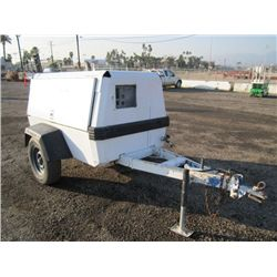1997 Ingersoll-Rand P175WJD Towable Air Compressor