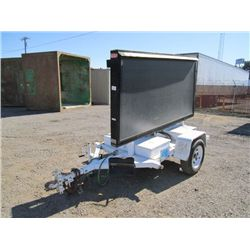 Display Solutions Towable Message Board