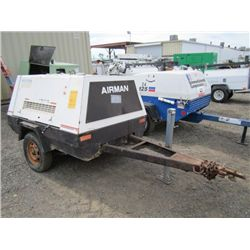 Airman PDS130S Towable Air Compressor