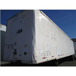 1987 Strick 53' T/A Van Trailer