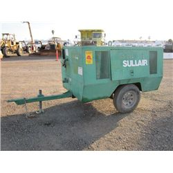 Sullair 185DPQ Towable Air Compressor