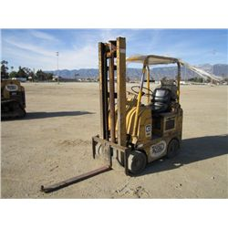 Caterpillar 422S Warehouse Forklift