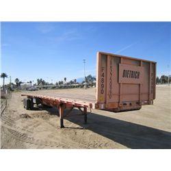 2004 Cheetah T/A 48' Flatbed Trailer