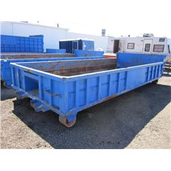 20' x 3' Roll-Off Debris Box