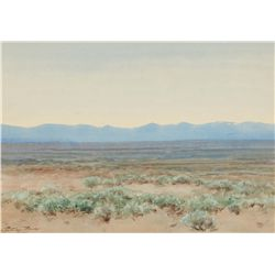 Adams, Charles P. - Sagebrush Flat, Western Colorado