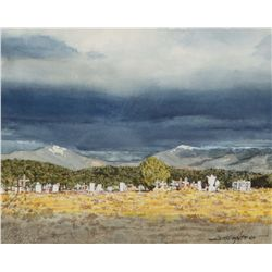 Asher, James - Campo Santo at Truchas