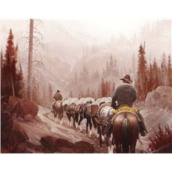 Smith, George D. - Pack Outfit - North Fork of the Shoshone
