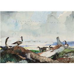 Mason, Roy - Geese on the Shore
