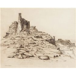 Borein, Edward - Navajo Lands