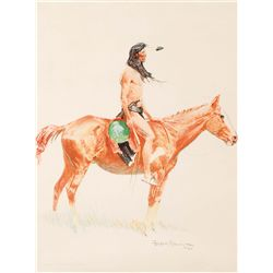 Remington, Frederic - Cheyenne Buck
