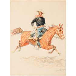Remington, Frederic - Cavalry Officer