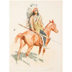 Remington, Frederic - A Sioux Chief