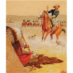 Delano, Gerard Curtis - Custer on the Washita