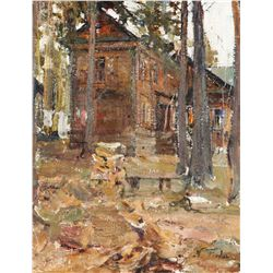 Fechin, Nicolai - House in the Forest