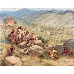 Beeler, Joe - Battle of Apache Pass