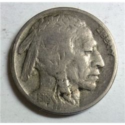 1918-S BUFFALO NICKEL FINE
