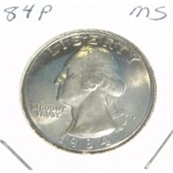 1984-P Quarter *MS HIGH GRADE*!!!