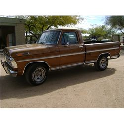 1972 Ford F100 Custom Sport Pickup