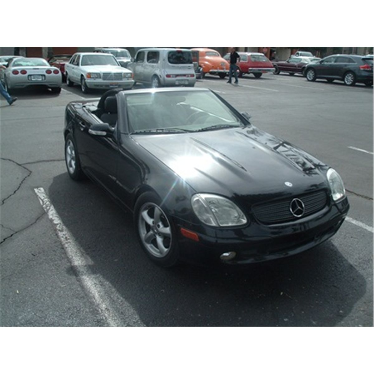2001 mercedes slk convertible. Black Bedroom Furniture Sets. Home Design Ideas