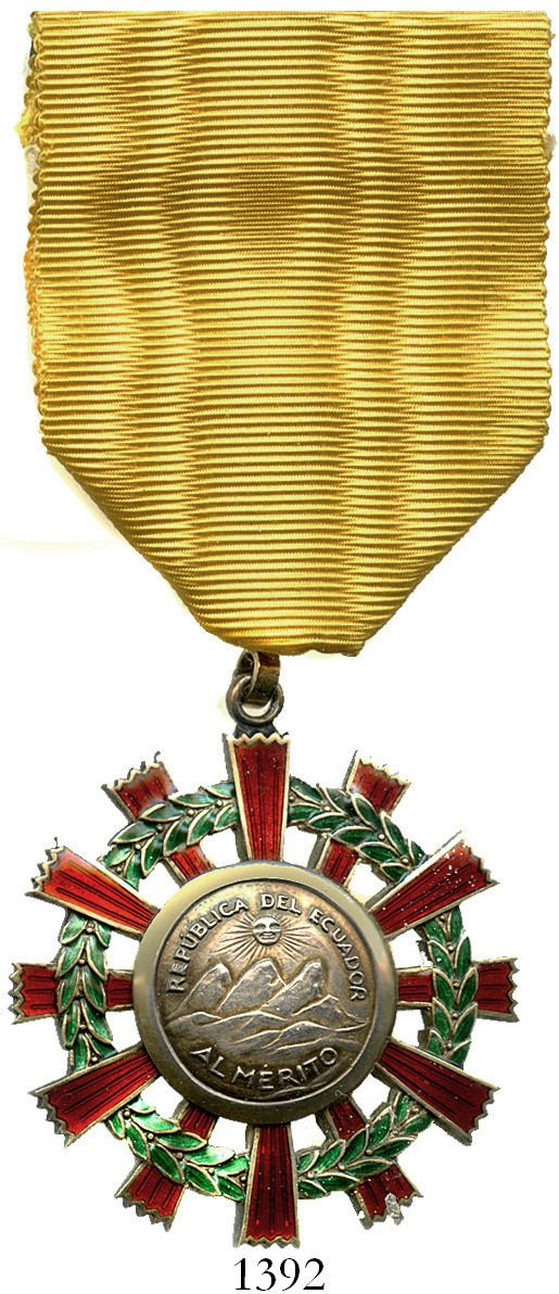 Orders  decorations  and medals of Ecuador on best capitulate