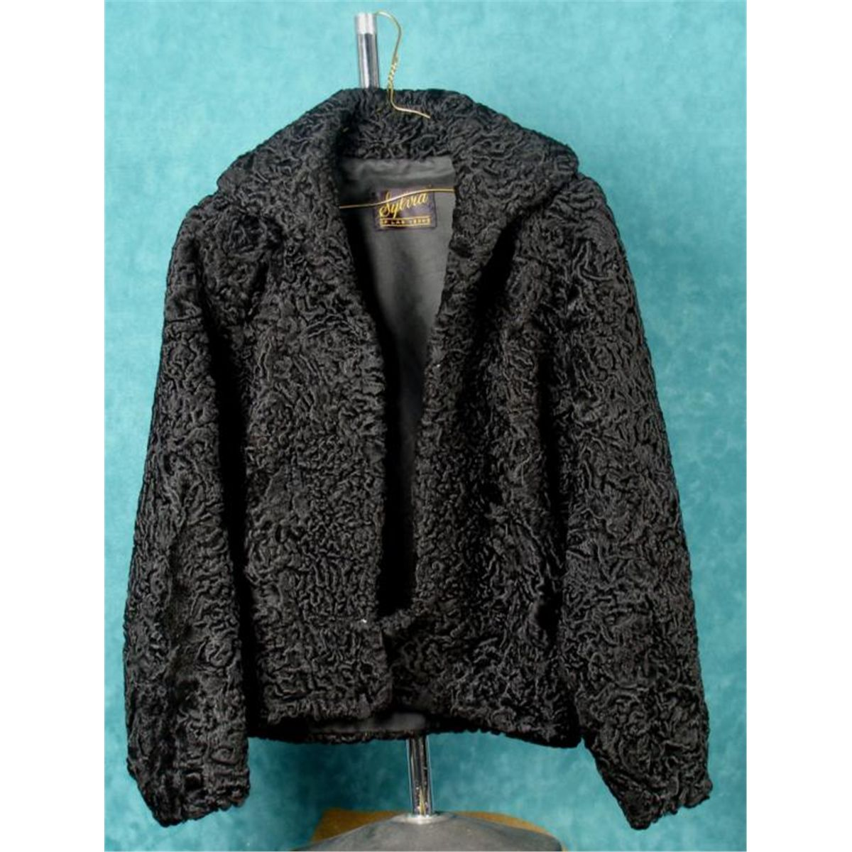 Short Persian Lambs Wool Jacket Med Sylvia of Las Vegas
