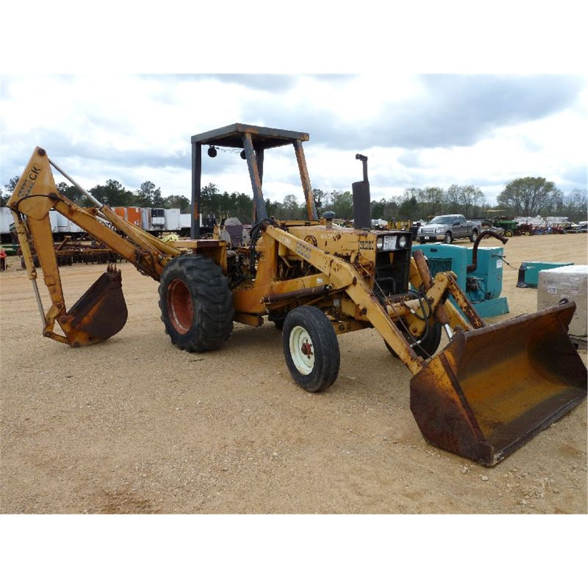Case 480b Loader Backhoe