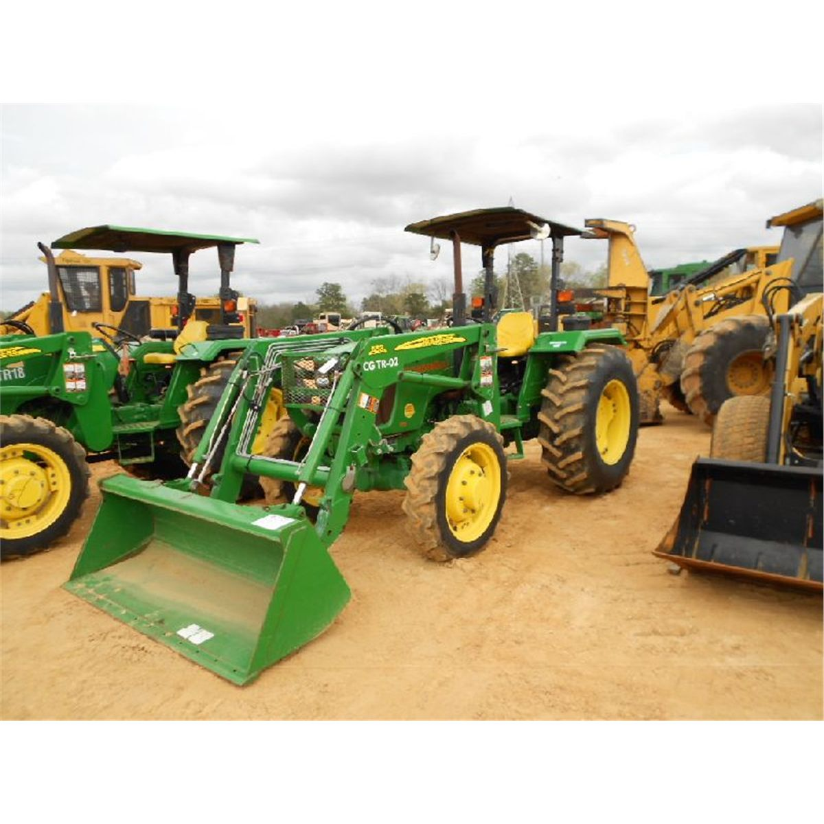 john deere 5075e 4x4 farm tractor. Black Bedroom Furniture Sets. Home Design Ideas