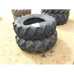 (1) LOT 2 TRACTOR TIRES