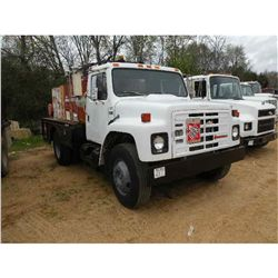 1986 INTERNATIONAL 1754 FUEL & LUBE TRUCK