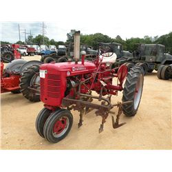 MCCORMICK INTERNATIONAL FARMALL C FARM TRACTOR