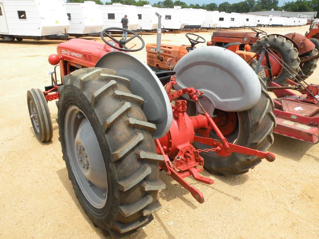 601 Ford Tractor Diesel : Ford workmaster wd farm tractor j m wood auction