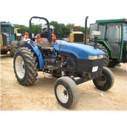 NEW HOLLAND TN65 FARM TRACTOR