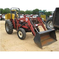 CASE INTERNATIONAL 385 2 WD FARM TRACTOR