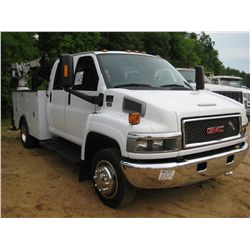 2008 GMC 5500 S/A MECHANICS TRUCK