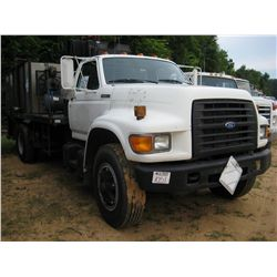 1995 FORD F800 S/A FUEL & LUBE