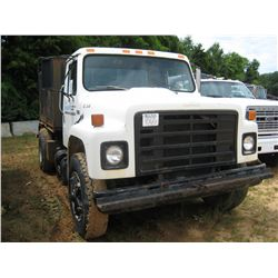1986 INTERNATIONAL S1700 S/A WATER TRUCK