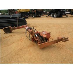 DITCH WITHC BACKHOE BUCKET