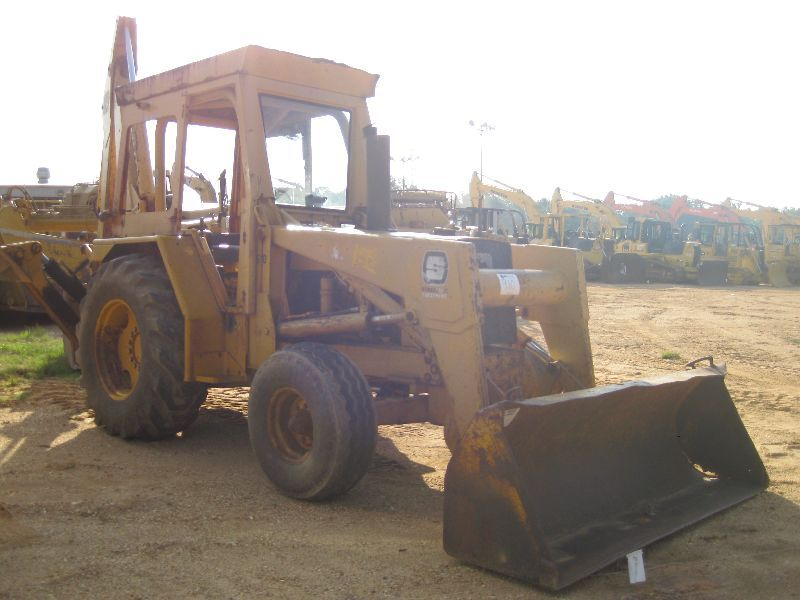 John Deere 510d Loader Backhoe