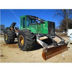 JOHN DEERE 848H GRAPPLE SKIDDER
