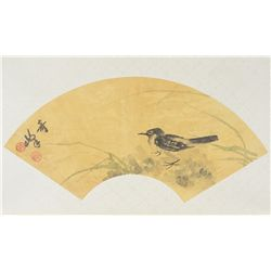 Gao Chi Fong (1889-1933) Chinese Fan Painting